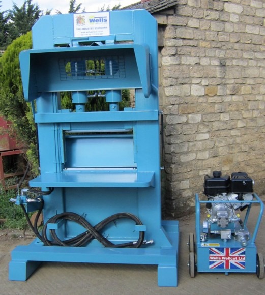 Wells Mk 7 Standard with Diesel - Petrol or 3 Phase Hydraulic Power Unit