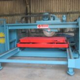 Used Reconditioned Wellcut 500-600 Bridge Saw
